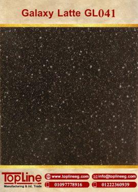 عينات كوريان من شركة توب لاين corian Samples from topline Galaxy Latte GL041
