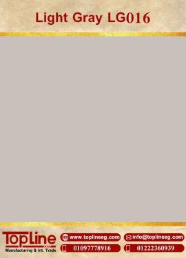 عينات كوريان من شركة توب لاين corian Samples from topline Light Gray LG016