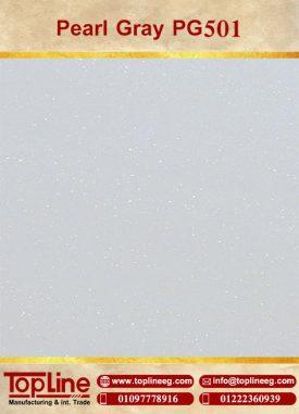 عينات كوريان من شركة توب لاين corian Samples from topline Pearl Gray PG501