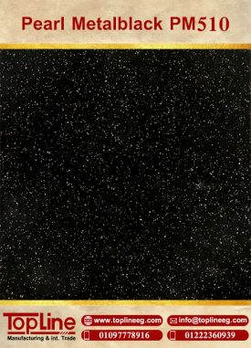عينات كوريان من شركة توب لاين corian Samples from topline Pearl Metalblack PM510