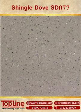 عينات كوريان من شركة توب لاين corian Samples from topline Shingle Dove SD077