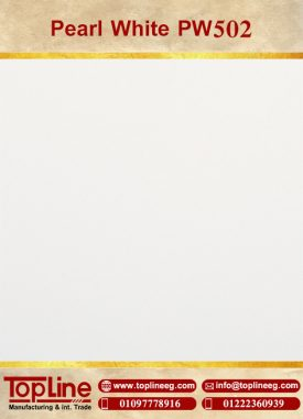 عينات كوريان من شركة توب لاين corian Samples from topline pearl white pw502